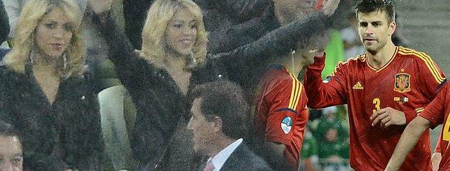 Shakira dopinguje ukochanego na meczu w Gdańsku