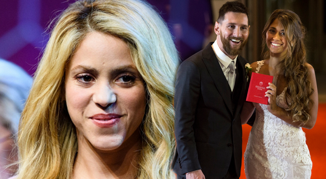 Shakira na ślubie Messiego PRZYĆMIŁA Pannę Młodą? (Instagram)