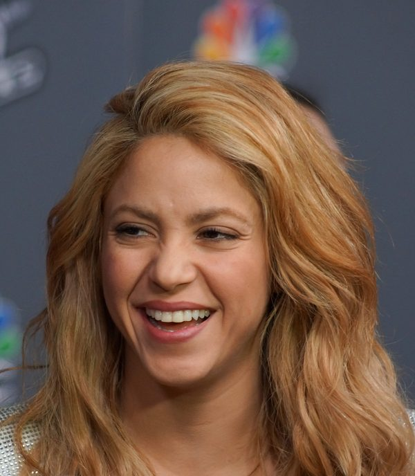 Shakira pokaza�a si� bez makija�u (FOTO)