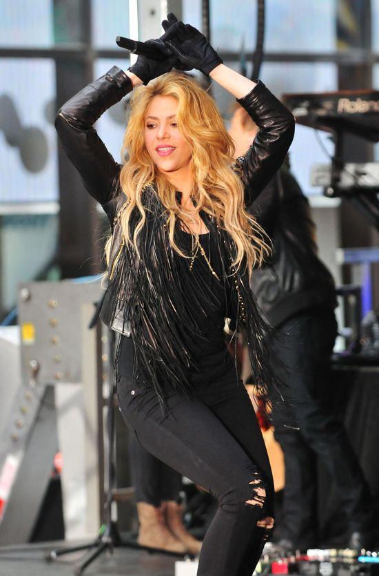 Shakira potrafi dać czadu na scenie (FOTO)