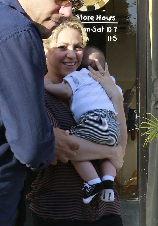 Shakira: Będę karmiła Milana piersią aż do jego studiów!