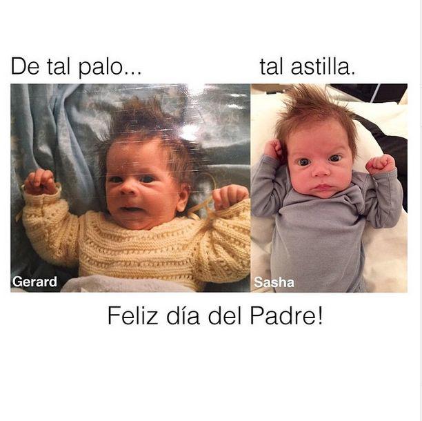 Shakira znowu pokaza�a zdj�cia syna (Instagram)