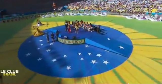Shakira dała czadu na finale Mundialu (VIDEO)