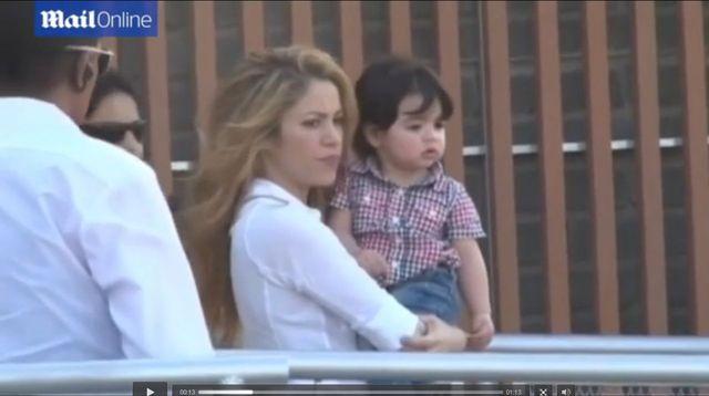Shakira zabrała synka w rodzinne strony (FOTO+VIDEO)