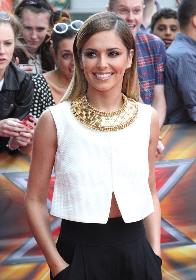 Gwiazdy schodzą na ziemię - Cheryl Cole i  zdjęcia z fanami