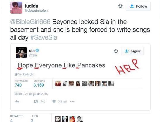 Szaleństwo! Beyonce porwała Się i zmusza ją do pisana piosenek!