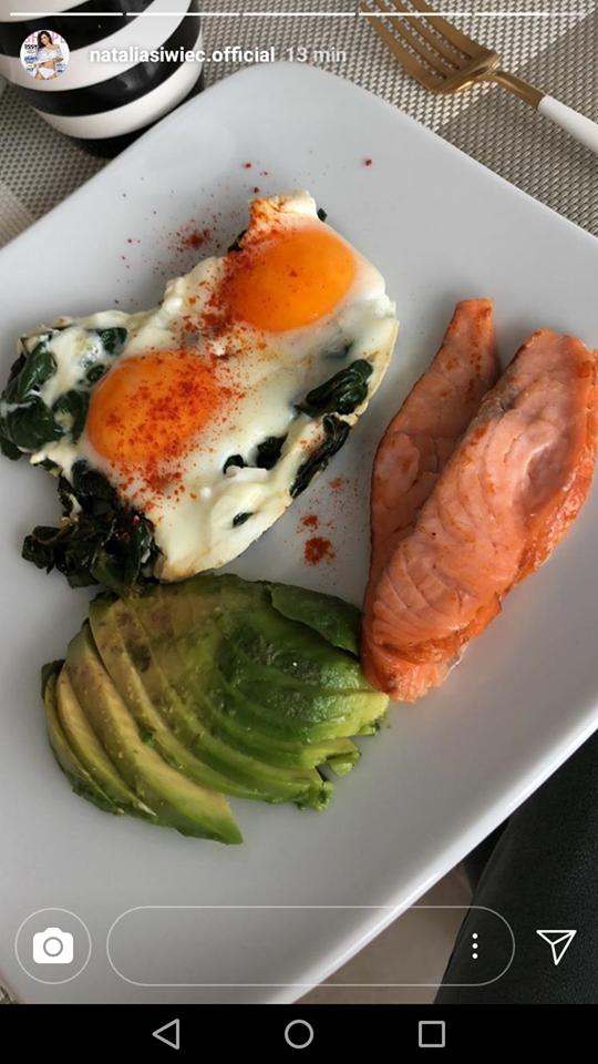 Świec pokazała co je na śniadanie: Porcja jak dla DZIECKA!