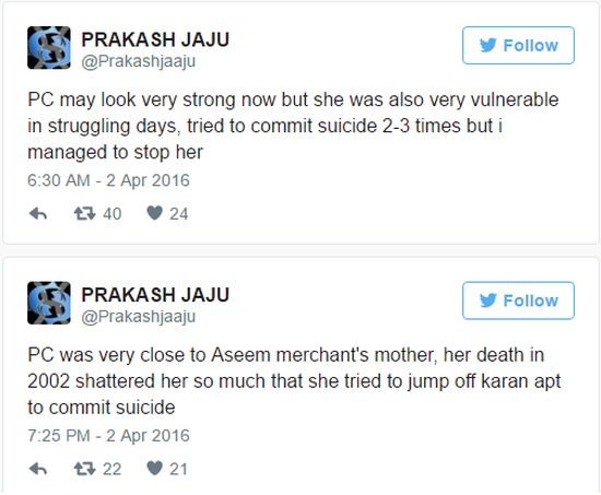 Gwiazda Bollywood Priyanka Chopra 3 RAZY próbowała się zabić?!