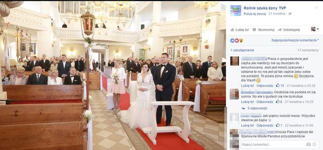 Mamy film ze ślubu Ani i Grzegorza z
