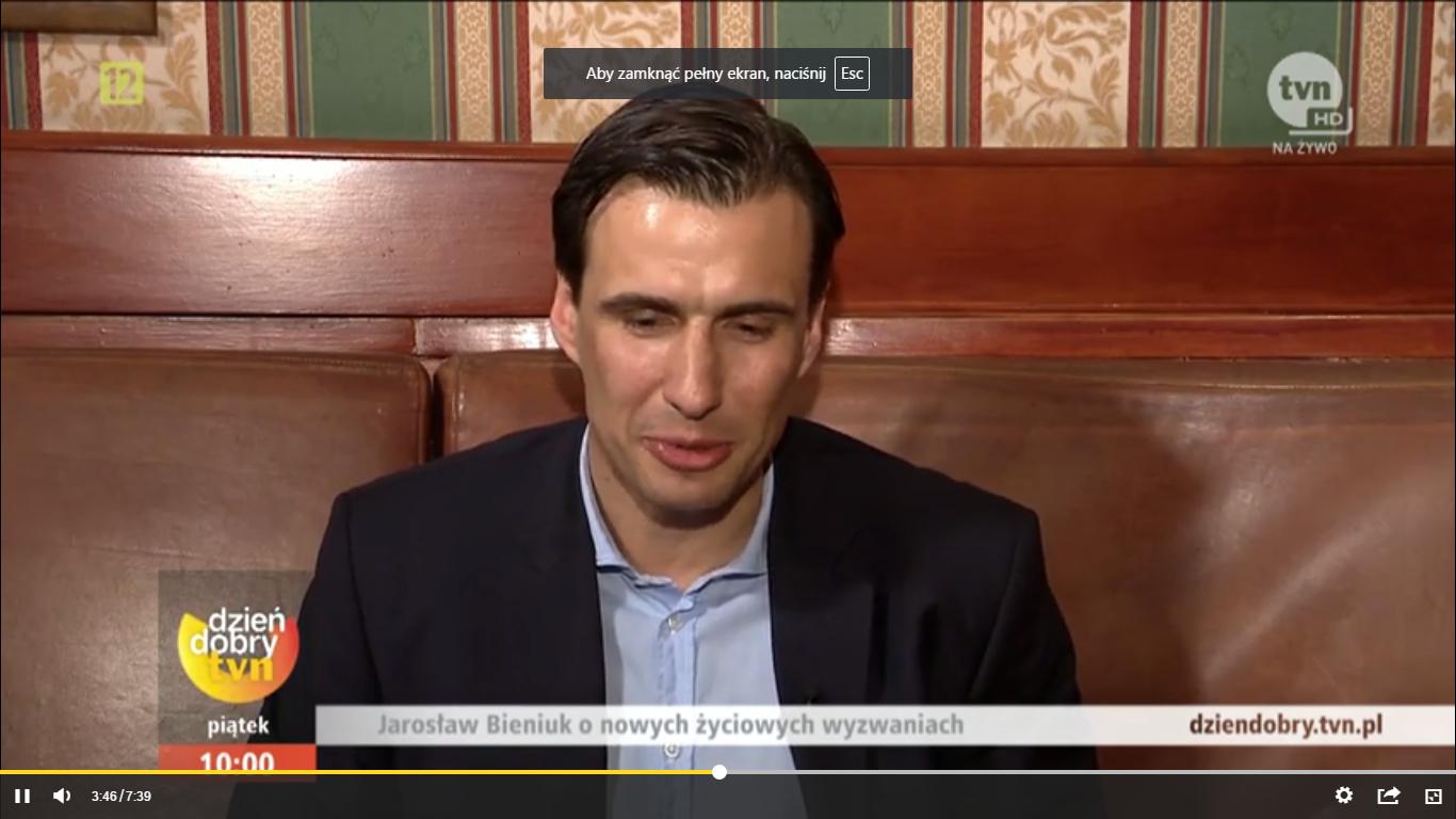 Jarosław Bieniuk: To bardzo ciężki okres w moim życiu