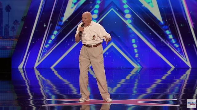To, co zrobi� ten 82-latek w ameryka�skim Mam Talent przejdzie do historii!
