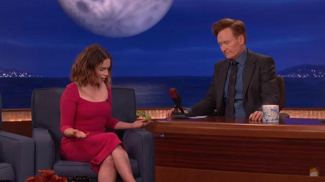 Emilia Clarke: W Grze o Tron powinno by� wi�cej... NAGO�CI!