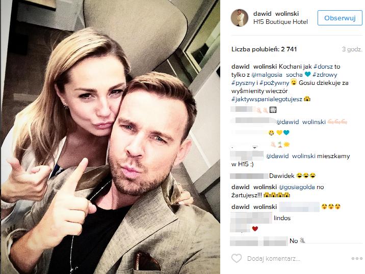 Małgorzata Socha zmienia profesję? Dawid Woliński zachwycony! (FOTO)