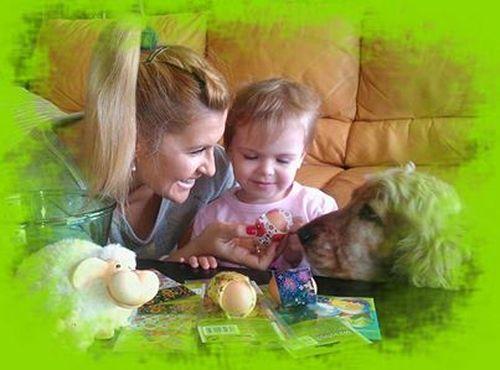 Katarzyna Skrzynecka składa z córeczką życzenia (FOTO)