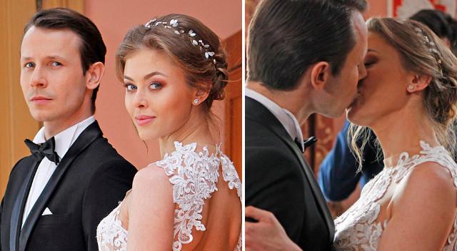 W Pierwszej miłości Jowita weźmie ślub z Radkiem w ZJAWISKOWEJ kreacji (ZDJĘCIA)