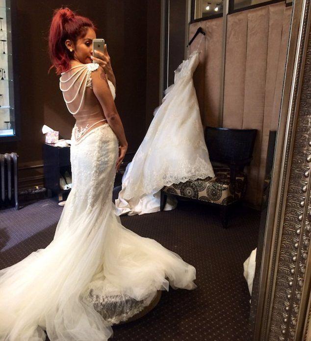 Tak będzie wyglądała suknia ślubna Snooki? (FOTO)