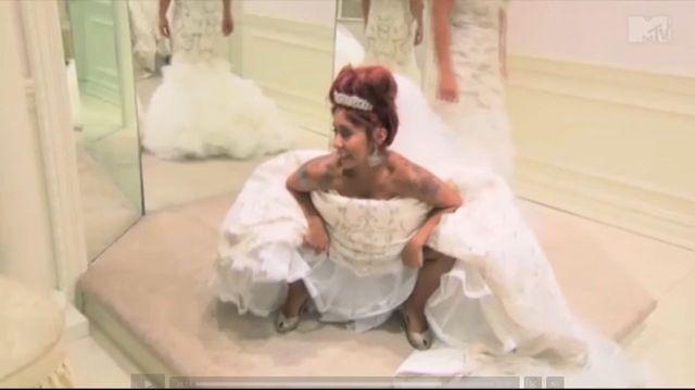 Snooki już znalazła wymarzoną suknię ślubną (VIDEO)