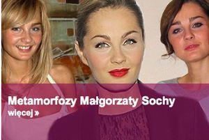 Małgorzata Socha 8 lat temu - jak wyglądała kiedyś? (FOTO)