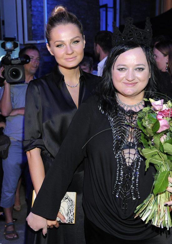 Ma�gorzata Socha na urodzinach Gosi Baczy�skiej (FOTO)