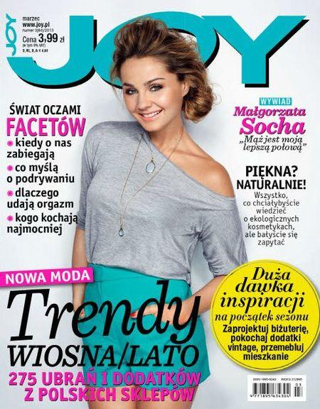 Małgorzata Socha na okładce magazynu JOY (FOTO)