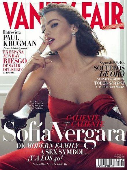 39-letnia Sofia Vergara w gorącej sesji dla Vanity Fair FOTO