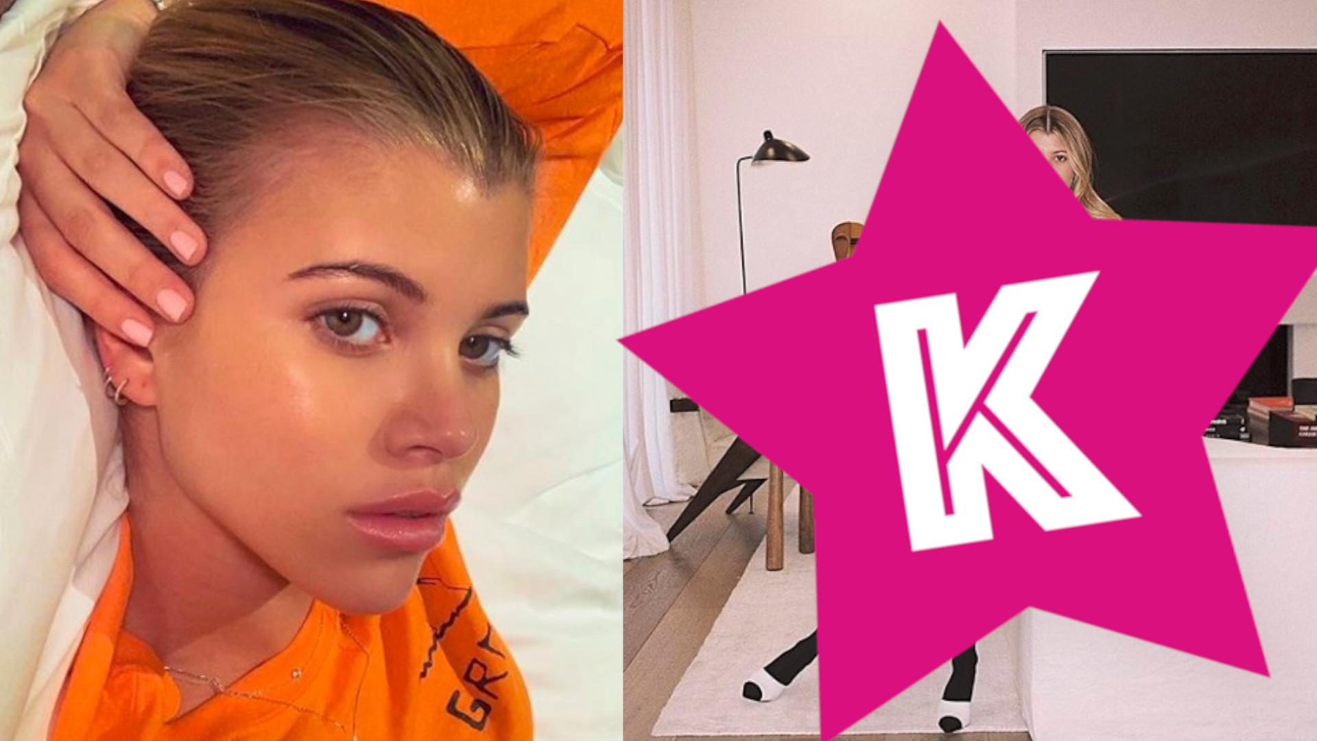 Sofia Richie inspiruje się Kourtney Kardashian. Kopiuje jej styl?