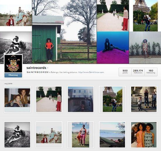 Co się dzieje na instagramie Solange? (FOTO)