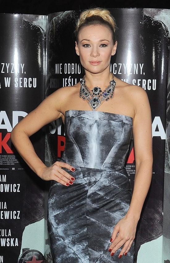 Sonia Bohosiewicz na premierze Syberiady Polskiej (FOTO)