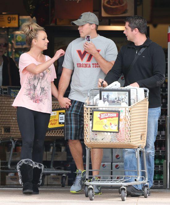 Britney Spears i David Lucado na zakupach