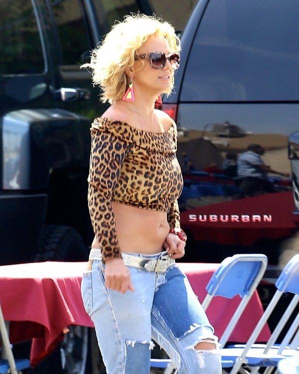 Chłopak na koncercie o Britney Spears: Gruba dz**a! [VIDEO]