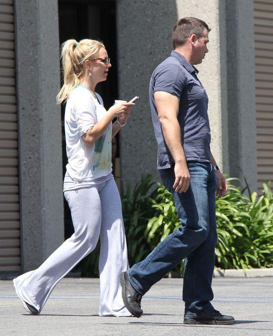 Piżamowy look Britney Spears (FOTO)