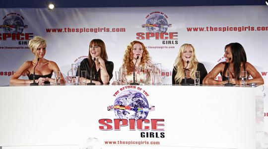 Spice Girls skracają trasę