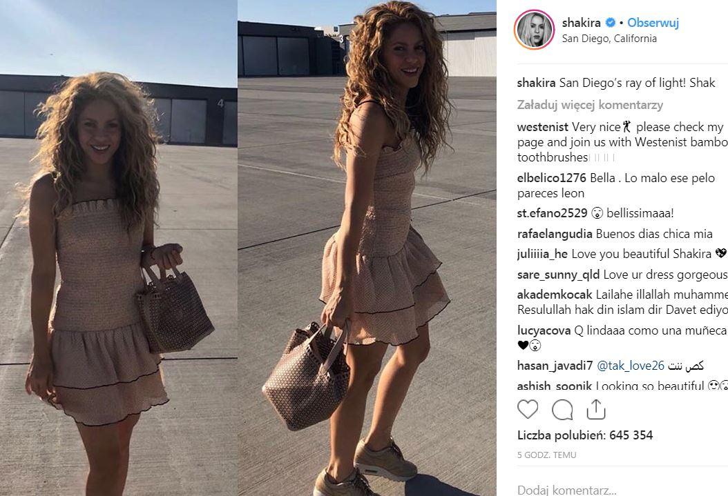 Shakira wiecznie młoda - W TEJ sukience wygląda jak nastolatka!