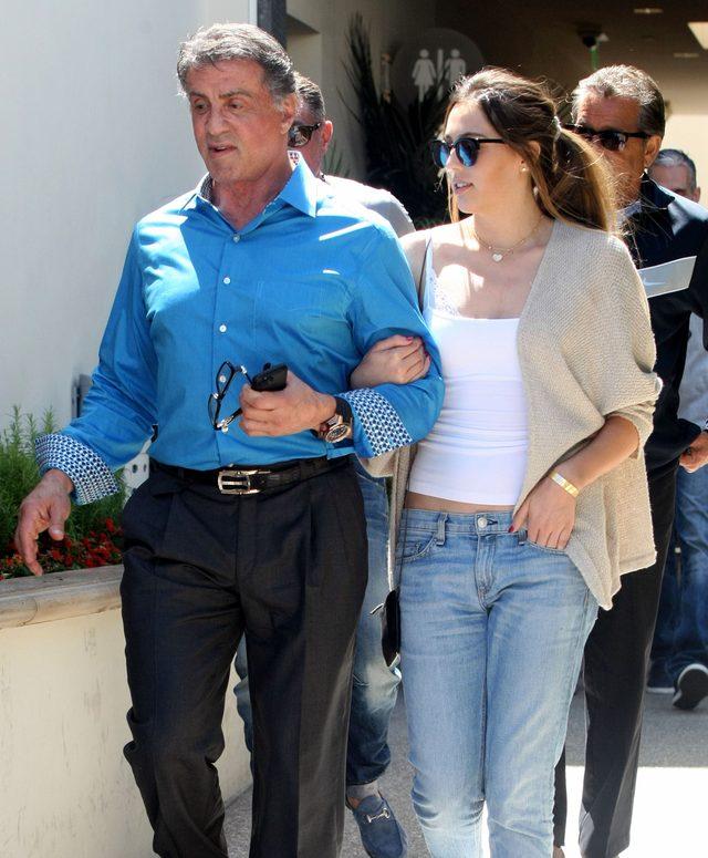 Sistine Stallone, córka Sylvestra, chce zostać modelką