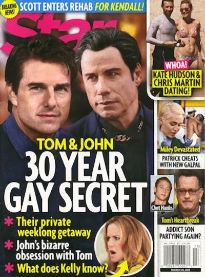 John Travolta i Tom Cruise przez 30 lat ukrywali romans?