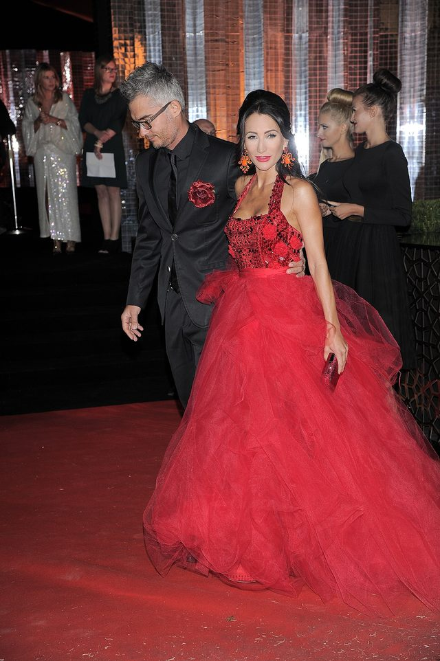 Justyna Steczkowska jak królowa balu (FOTO)