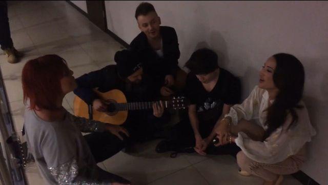 Justyna Steczkowska śpiewa z Dawidem Kwiatkowskim (VIDEO)