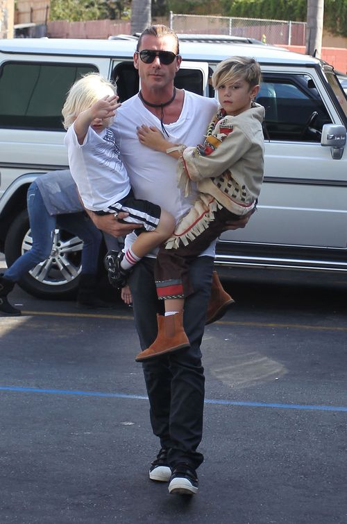 Gwen Stefani na sobotnich zakupach z rodziną (FOTO)