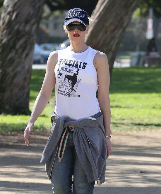Gwen Stefani: aktywnie z rodzinką