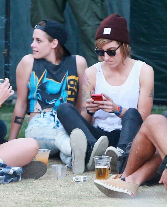 Niezręczne spotkanie Pattinsona i Stewart na Coachelli FOTO