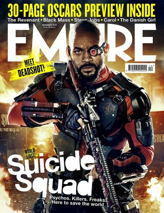 Bohaterowie Suicie Squad na ok�adkach Emipre (FOTO)