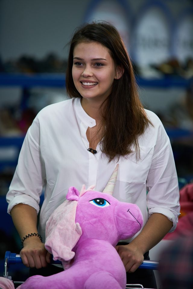 Supermodelka Plus Size – Wiktoria i jej... różowy jednorożec (ZDJĘCIA +VIDEO)