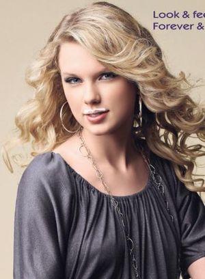 Taylor Swift z wąsami (FOTO)