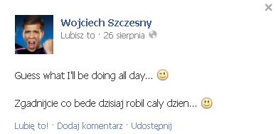 Wojciech Szczęsny gra nie tylko na murawie (VIDEO)