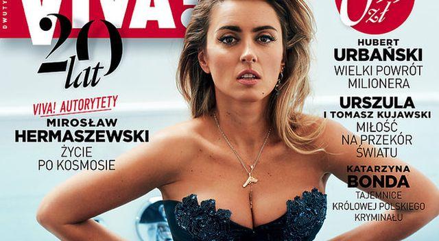 WOW! Karolina Szostak w GORSECIE na okładce Vivy! – czy dalej chce chudnąć?