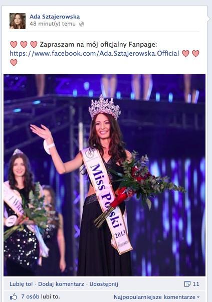 Nowa Miss Polski zradza szczegóły swojego życia prywatnego