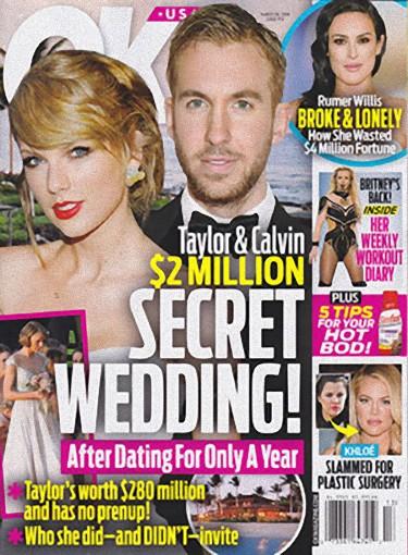 Decyzja Taylor Swift i Calvina Harrisa zszokowała wszystkich