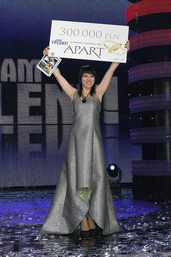 Tatiana Galitsyna zgarnęła 300 tys. zł rzeźbiąc w piasku