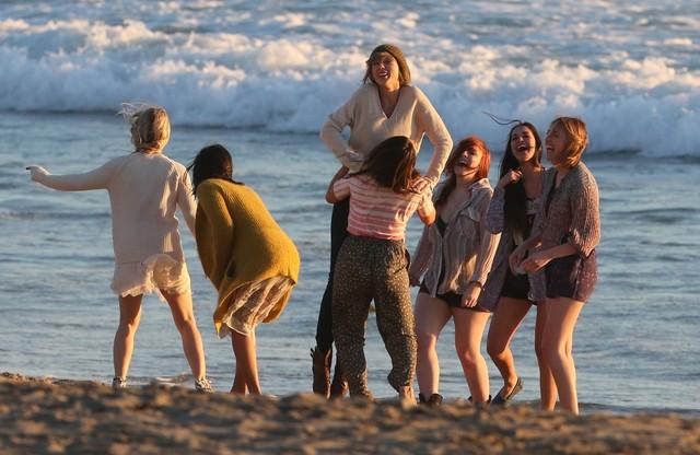 Taylor Swift na planie nowego teledysku (FOTO)