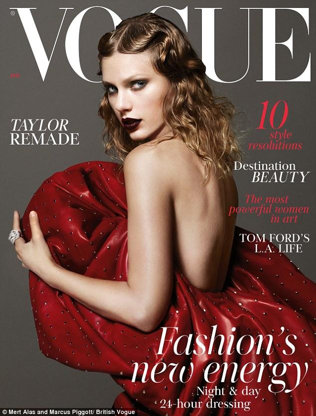 Taylor Swift wylądowała na okładce Vogue'a!